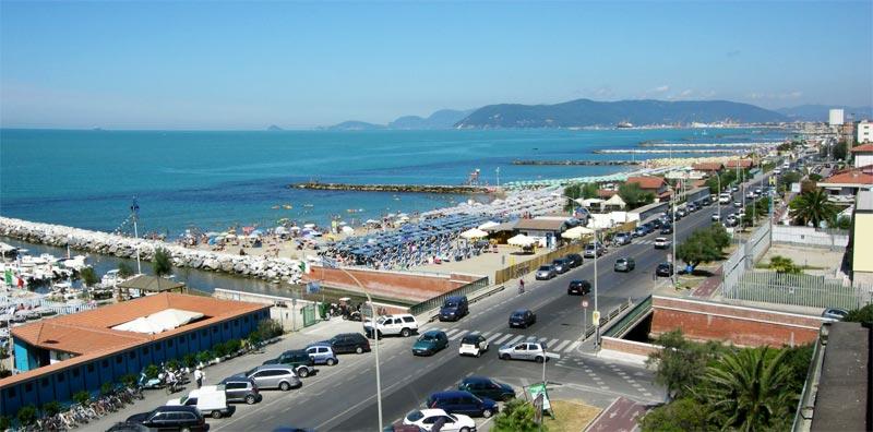 Spiagge a Marina di Massa, Hotel Giulia a Marina di Massa